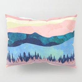 Winter Sunset Pillow Sham