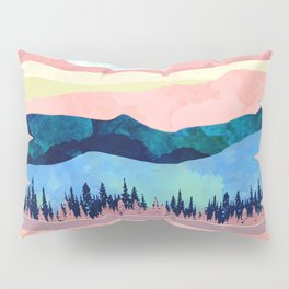 Winter Sunset Pillow Sham