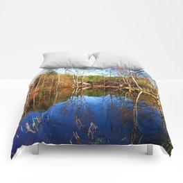 Chapin Lane Pond Comforters