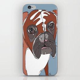 My Sad Boxer Dog iPhone Skin