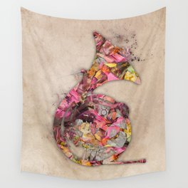French horn Wall Tapestry