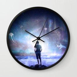 The Northern Light Sea Wall Clock