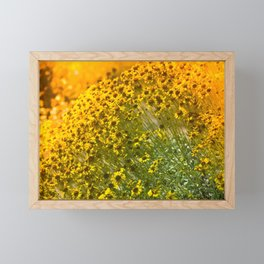 Super Bloom 7316 Paradise Joshua Tree - California SuperBloom Summer Vacations Framed Mini Art Print