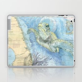 West Palm Beach Turtle Laptop & iPad Skin