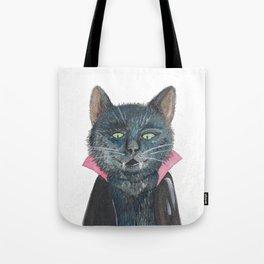 Vampire Cat Tote Bag