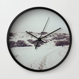 Snow Days in Calgary Wall Clock