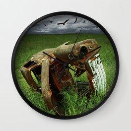 Steel Auto Body Carcass Wall Clock