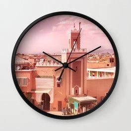 Fantastic Marrakech Wall Clock