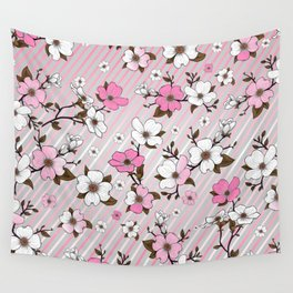 Lovable Flowers 15 Wall Tapestry
