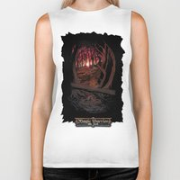 berserk Biker Tanks featuring Children In the Wood by TheMagicWarrior