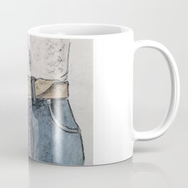 Blue jeans Coffee Mug