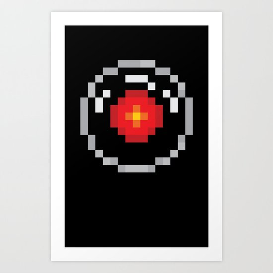 2001: A Pixel Odyssey Art Print