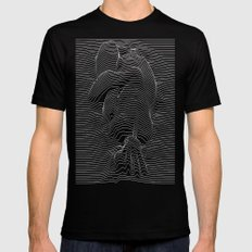 joy joy division Mens Fitted Tee MEDIUM Black