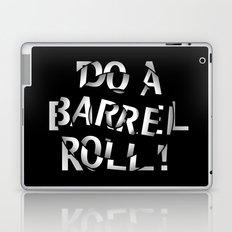 Do a barrel roll! Laptop & iPad Skin