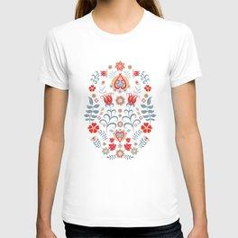 Scandinavian Folk Art  T-shirt