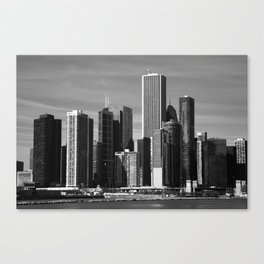 Chicago Skyline 2010 Canvas Print