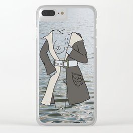 Pockets full of stones. Clear iPhone Case