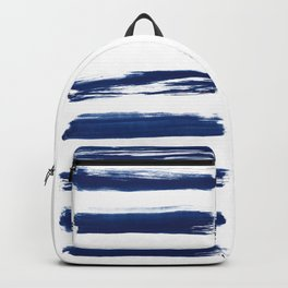 Indigo Brush Strokes | No. 2 Backpack