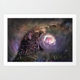 Jaguar Nebula Art Print