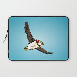 Puffin Wearing A Hat Laptop Sleeve