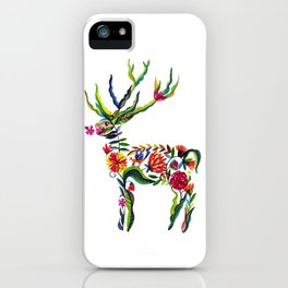 Hirsch Blume iPhone Case