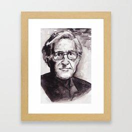 Chomsky Framed Art Print