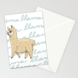Llama Be My Best Stationery Cards