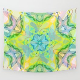 A colorful kaleidoscope 3 Wall Tapestry