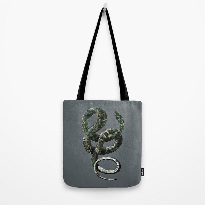 Jungle Snake Tote Bag