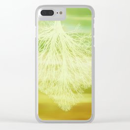 inhaling spring Clear iPhone Case