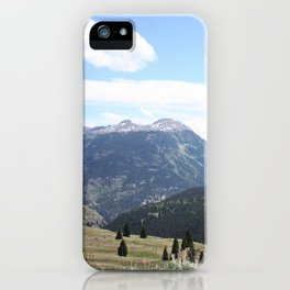 Colorado Mountains iPhone Case