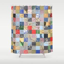 Lanzarote mosaïque Shower Curtain