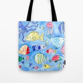Aquarium Fish for Summer Tote Bag