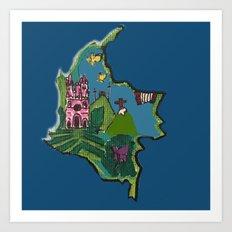 Canica 6 Art Print