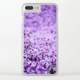 Purple by Althéa Photo Clear iPhone Case
