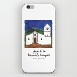 Iglesia de la Inmaculada Concepcion iPhone Skin