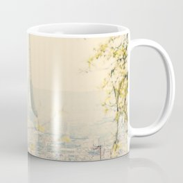 the Eiffel tower from atop Montmartre, Paris ... Coffee Mug