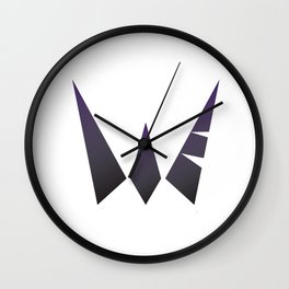 Warrior the Fvck Up Wall Clock