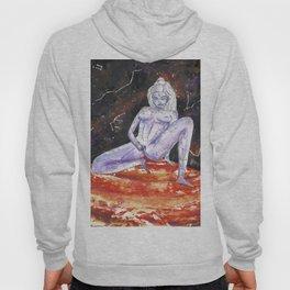 Lavender Star Baby - Constellation Venus Goddess Painting Hoody