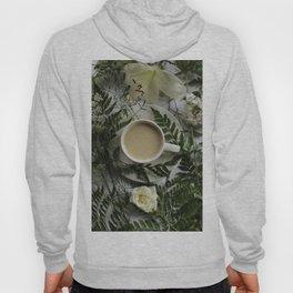 Flowers and Coffee Hoody