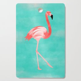 Flamingo Bird Cutting Board