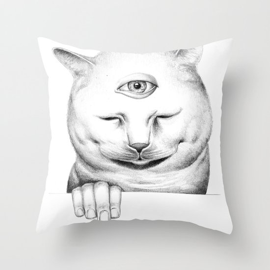 human after all II Throw Pillow
