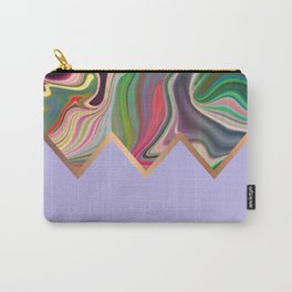 Periwinkle Razz Carry-All Pouch
