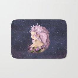 Lilac Summer Bath Mat