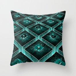 AzTECH Temple Throw Pillow