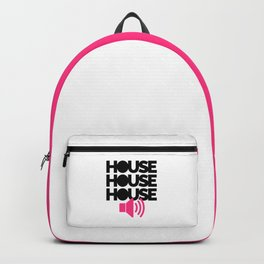 House Speaker Music Quote Backpack