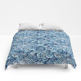 DEEP LIFE Mermaid Scales Comforters