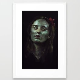 leave some part of you on this earth Framed Art Print