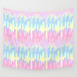 Melty Patterned Slime Wall Tapestry