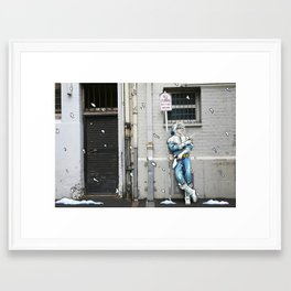 Living in the Material World: CAPTAIN COLD Framed Art Print